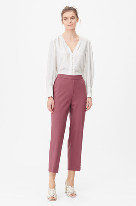 Rebecca Taylor Tailored Gabardine Suiting Pant