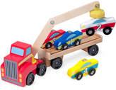 Melissa & Doug Kids' Magnetic Car Loader Toy