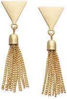 INC International Concepts Gold-Tone Fringe Stud Earrings, Only at Macy's