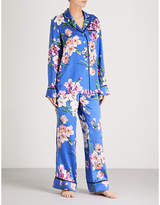 Olivia Von Halle Lila Briella silk-satin pyjama set