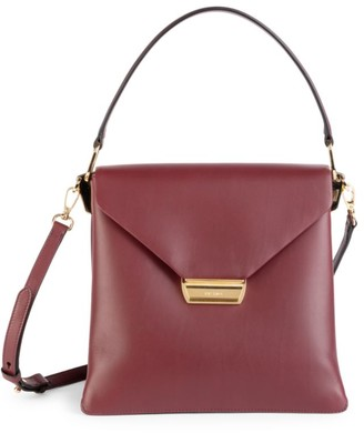 Prada Ingrid Top-Handle Leather Tote