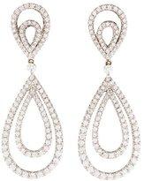 Kwiat 18K Diamond Contomo Drop Earrings