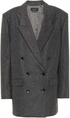 Isabel Marant Oladimia wool flannel blazer