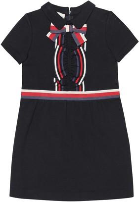Gucci Kids Cotton-jersey dress