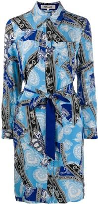 Diane von Furstenberg Chine silk shirt dress