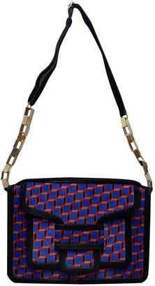 Pierre Hardy Blue Suede Handbags