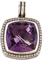 David Yurman Amethyst & Diamond Albion Enhancer