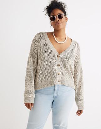 Madewell Marled Hartley Cardigan Sweater