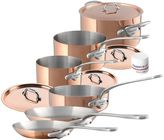 Mauviel 1830® Copper and Stainless Steel 10-Piece Cookware Set