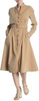 Gracia Belted Long Sleeve Dress
