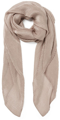 Forever New Iris Pleated Metallic Scarf