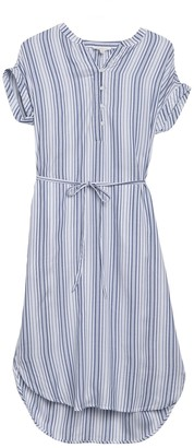 BeachLunchLounge Jasmeen Short Sleeve Belted Dress