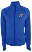 NCAA Kansas Jayhawks Women's Synthetic Full Zip Activewear Sweatshirt