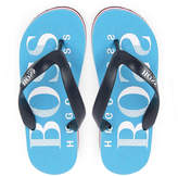 BOSS Logo flip-flops