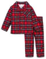 Little Me Boys Christmas Pajamas Infant or Toddler Plaid
