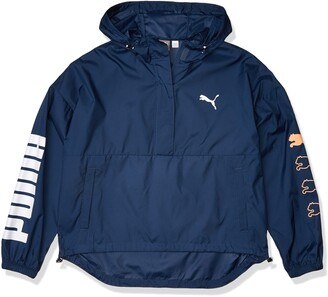 Puma Women's 1/2 Zip Windbreaker Jacket
