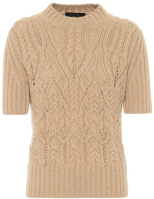 Loro Piana Cable-knit cashmere sweater