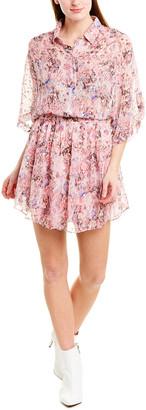 IRO Prunus Silk-Blend Shirtdress