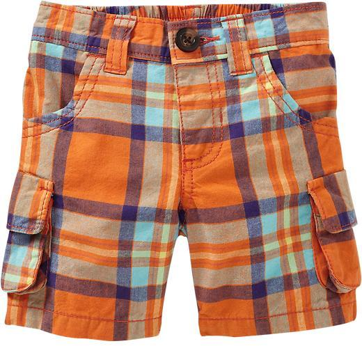 Old Navy Plaid Cargo Shorts for Bably