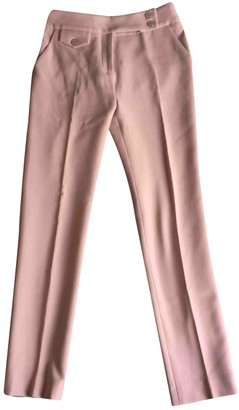 Veronica Beard Pink Trousers for Women