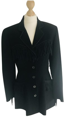 Chantal Thomass Black Wool Jacket for Women Vintage