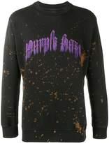 Palm Angels 'Purple Haze' sweatshirt