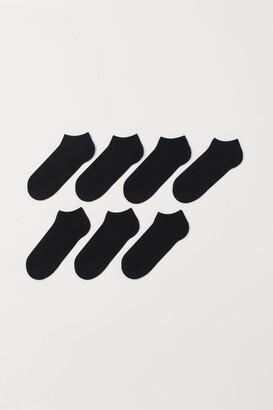 H&M 7-pack Liner Socks - Black