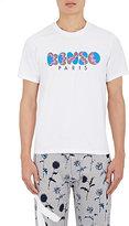 Kenzo Men's Bubble Letter Jersey T-Shirt-WHITE