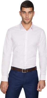 yd. Pink Elton Slim Dress Shirt