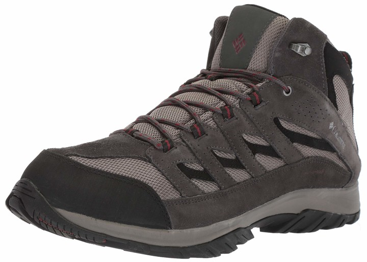 Columbia Men's Crestwood Mid Waterproof Hiking Boot Breathable High-Traction Grip 15 Wide US