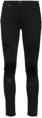 Amiri Thrasher distressed skinny jeans