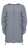 Tibi Viscose Gingham Dress