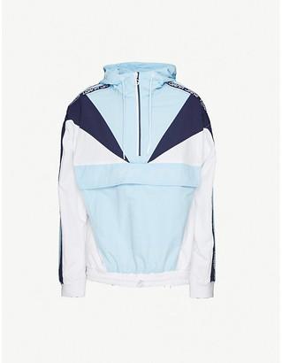 Lorna Jane Attitude logo-print shell jacket