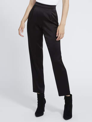 Alice + Olivia Jessie Back Zip Pleated Slim Pant