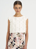 Rachel Comey Lady Cropped Knit Top