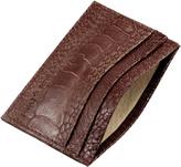 Ostrich Shin Card Holder