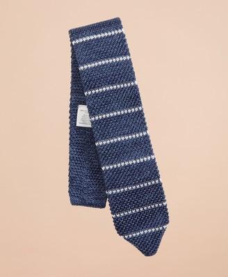 Brooks Brothers Stripe Knit Silk Tie