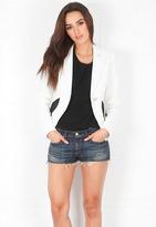 SMYTHE Lace Blazer in White