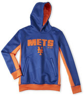 Majestic Boys 8-20) Mets Color Block Fleece Hoodie
