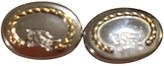 Burberry Silver Steel Cufflinks