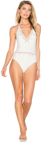 Tularosa Lovely One Piece in Ivory. - size L (also in M)