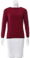 Celine Striped Cashmere Top