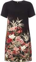 Dorothy Perkins Black Floral Shift Dress