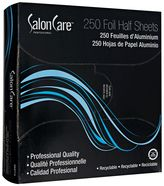 Salon Care 250 Count Foil Half Sheets