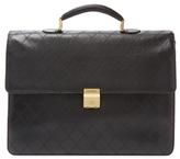 Chanel Vintage Black Caviar Briefcase