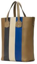 Ghurka Men's Broadway Leather Tote Bag - Beige