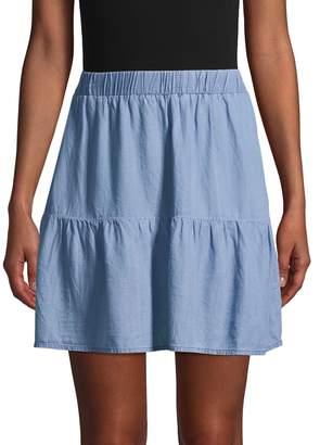 Saks Fifth Avenue Tiered Mini Skirt