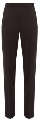 Pallas X Claire Thomson-jonville - Fulham Wool-twill Trousers - Womens - Black
