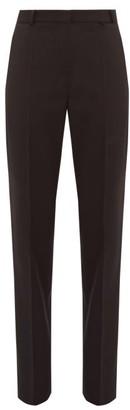 Pallas X Claire Thomson Jonville X Claire Thomson-jonville - Fulham Wool Twill Trousers - Womens - Black