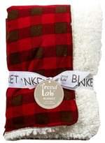 Trend Lab Northwood's Plush Fleece Receiving Blanket